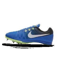 Шиповки унисекс для бега на средние дистанции Nike Zoom Rival M 8Шиповки для бега на средние дистанции унисекс Nike Zoom Rival M 8 обеспечивают легкость и надежную поддержку благодаря однослойной сетке и нитям Flywire. Конструкция Pebax® обеспечивает легкость и стабилизацию, а семь съемных шипов отлично держат сцепление на разных поверхностях во время бега с препятствиями и прыжков.<br>