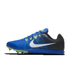 Шиповки унисекс для бега на средние дистанции Nike Zoom Rival D 9Шиповки унисекс Nike Zoom Rival D 9 для бега на средние дистанции обеспечивают воздухопроницаемость и комфорт от старта до финиша благодаря однослойной сетке и амортизирующей подошве из материала Phylon. Шесть съемных шипов обеспечивают надежное сцепление с поверхностью, а особая конструкция Pebax&amp;#174;обеспечивает легкость и стабилизацию.<br>