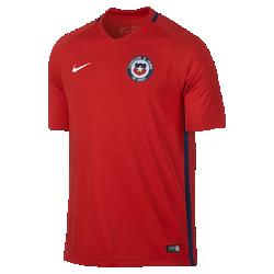 Мужская футбольная джерси 2016 Chile Stadium Home/AwayМужская футбольная джерси 2016 Chile Stadium Home/Away обеспечивает комфорт без утяжеления, когда ты болеешь за команду с трибун или просто идешь по улице.<br>