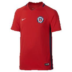 Футбольная джерси для дошкольников 2016 Chile Stadium Home/Away (3–8 лет)Футбольная джерси для дошкольников 2016 Chile Stadium Home/Away из легкой влагоотводящей ткани обеспечивает комфорт во время игры и на каждый день.<br>