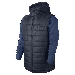 Мужская куртка Nike Sportswear Advance 15Мужская куртка Nike Sportswear Advance 15 из теплого флиса двойного переплетения с легким наполнителем поможет тебе справиться с прохладной погодой.<br>