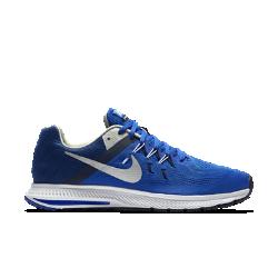 Мужские беговые кроссовки Nike Zoom Winflo 2Мужские беговые кроссовки Nike Zoom Winflo 2 выполнены с применением сетки Еngineered mesh и нитей Flywire и обеспечивают легкость, воздухопроницаемость и плотную посадку от стартадо финиша. Вставка Nike Zoom Air обеспечивает оптимальную амортизацию, а эластичные желобки гарантируют естественность движений.<br>