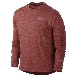 Мужская футболка для бега с длинным рукавом Nike Therma Sphere ElementМужская футболка с длинным рукавом для бега Nike Therma Sphere Element с терморегуляцией защищает от холода при понижении температуры.<br>