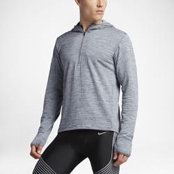 Мужская худи для бега Nike Therma Sphere ElementМужская худи для бега Nike Therma Sphere Element обеспечивает исключительную защиту от холода и комфорт во время бега в зимний сезон.  Естественное тепло  Ткань Nike Therma Sphere использует выделяемое телом тепло для оптимальной защиты от холода. Мягкая изнанка с начесом для длительного комфорта.  Оптимальная защита  Капюшон из трех панелей обеспечивает защиту, не ограничивая обзор. Широкие манжеты заворачиваются в варежки для защиты рук от холода и ветра.  Важные мелочи всегда в сохранности  Карман на молнии на бедре сзади для надежного хранения небольших предметов.<br>