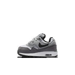 Кроссовки для малышей Nike Air Max 1Кроссовки для малышей Nike Air Max 1 с легендарным дизайном, который впервые открыл миру технологию Air, обеспечивают оптимальную амортизацию для растущей стопы. Удобно снимать и надевать благодаря конструкции без шнуровки.<br>
