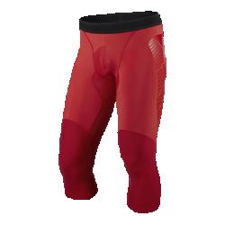 Мужские футбольные тайтсы длиной 3/4 Nike Vapor SliderМужские футбольные тайтсы длиной 3/4 Nike Vapor Slider из влагоотводящей ткани с компрессионной конструкцией обеспечивают оптимальную поддержку, воздухопроницаемость и комфорт. Прочные боковые вставки из ткани двойной вязки смягчают воздействие при скольжении.<br>
