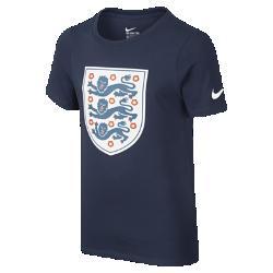 Футболка для школьников England Crest (XS–XL)Футболка для школьников England Crest из мягкого хлопка обеспечивает удобную посадку и украшена командной символикой, подчеркивая твою преданность любимой команде.<br>