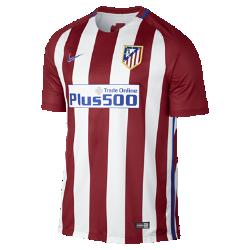 Мужское футбольное джерси 2016/17 Atletico de Madrid Stadium HomeМужское футбольное джерси 2016/17 Atletico de Madrid Stadium Home из легкой ткани обеспечивает комфорт на каждый день.<br>