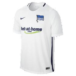 Мужское футбольное джерси 2016/17 Hertha BSC Berlin Stadium AwayМужское футбольное джерси 2016/17 Hertha BSC Berlin Stadium Away из легкой ткани обеспечивает комфорт на каждый день.<br>