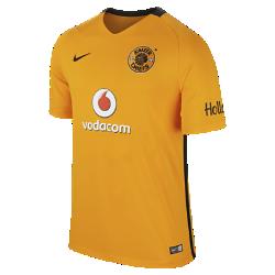 Мужское футбольное джерси 2016/17 Kaizer Chiefs FC Stadium HomeМужское футбольное джерси 2016/17 Kaizer Chiefs FC Stadium Home из легкой ткани с символикой команды обеспечивает комфорт на каждый день.<br>