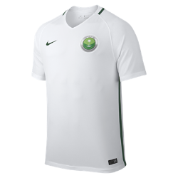 Мужское футбольное джерси 2016 Saudi Arabia Stadium HomeМужское футбольное джерси 2016 Saudi Arabia Stadium Home из легкой ткани обеспечивает комфорт на каждый день.<br>
