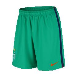 Мужские футбольные шорты 2016/17 Werder Bremen Stadium Home/AwayМужские футбольные шорты 2016/17 Werder Bremen Stadium Home/Away из легкой ткани обеспечивают комфорт на каждый день.<br>