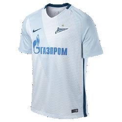 Мужское футбольное джерси 2016/17 FC Zenit Stadium Home/AwayМужское футбольное джерси 2016/17 FC Zenit Stadium Home/Away обеспечивают комфорт без утяжеления, когда ты болеешь за команду с трибун или просто идешь по улице.<br>