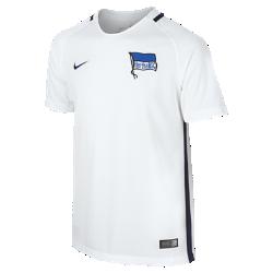 Футбольное джерси для школьников 2016/17 Hertha BSC Berlin Stadium Away (XS–XL)Футбольное джерси для школьников 2016/17 Hertha BSC Berlin Stadium Away из легкой ткани обеспечивает комфорт на каждый день.<br>