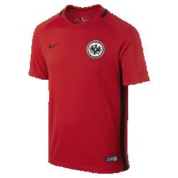 Футбольное джерси для школьников 2016/17 Eintracht Frankfurt Stadium AwayФутбольное джерси для школьников 2016/17 Eintracht Frankfurt Stadium Away из легкой ткани обеспечивает комфорт на каждый день.<br>