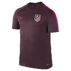 Мужская игровая футболка Atletico de Madrid Dry SquadМужская игровая футболка Atletico de Madrid Dry Squad обеспечивает комфорт на поле благодаря легкой влагоотводящей ткани и сетчатой вставке на спине.<br>