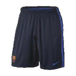 Мужские шорты для тренинга FC BarcelonaМужские шорты для тренинга FC Barcelona из легкой воздухопроницаемой ткани клубных цветов украшены тканой эмблемой команды.<br>