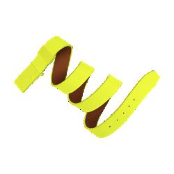 Ремень Nike Sleek Modern Tonal PlaqueРемень Nike Sleek Modern Tonal Plaque из прочной первоклассной кожи с гладкой металлической пряжкой помогает создать безупречный образ.<br>