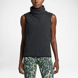 Женский жилет для тренинга Nike AeroLayerЖенский жилет для тренинга Nike AeroLayer из теплой водонепроницаемой ткани обеспечивает комфорт и защиту от холода и влаги.<br>