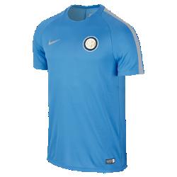 Мужская игровая футболка Inter Milan DryМужская игровая футболка Inter Milan Dry обеспечивает комфорт на поле благодаря легкой влагоотводящей ткани и вставке из сетки на спине.<br>