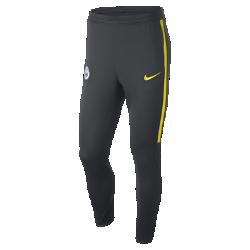 Мужские футбольные брюки Manchester City FC Dry SquadМужские футбольные брюки Manchester City FC Dry Squad из эластичной влагоотводящей ткани обеспечивают комфорт и полную свободу движений во время тренировок.<br>