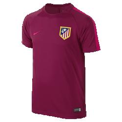 Игровая футболка для школьников Atletico de Madrid Dry (XS–XL)Игровая футболка для школьников Atletico de Madrid Dry обеспечивает комфорт на поле благодаря легкой влагоотводящей ткани и сетчатой вставке на спине.<br>