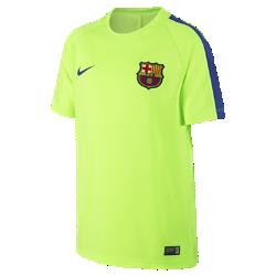 Игровая футболка для школьников FC Barcelona Dry Squad (XS–XL)Игровая футболка для школьников FC Barcelona Dry Squad из дышащей влагоотводящей ткани защищает от перегрева на поле и за его пределами.<br>