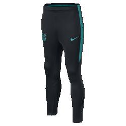 Футбольные брюки для школьников FC Barcelona (XS–XL)Футбольные брюки для школьников FC Barcelona из эластичной рубчатой ткани с боковыми вставками обеспечивают естественную свободу движений во время тренировок.<br>