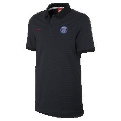 Мужская рубашка-поло из ткани пике Paris Saint-Germain Nike Sportswear Authentic Grand SlamМужская рубашка-поло из ткани пике Paris Saint-Germain Nike Sportswear Authentic Grand Slam с отложным воротником и тканой накладкой на мягком смесовом хлопке создана в винтажном стиле команды.<br>