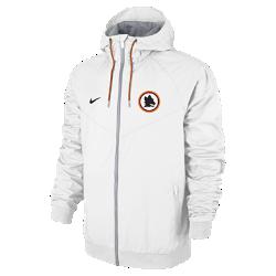 Мужская куртка A.S. Roma Authentic WindrunnerМужская куртка A.S. Roma Authentic Windrunner сохранила классические элементы оригинальной модели: шеврон на груди и прочную ткань, защищающую от непогоды во время игры или прогулки.<br>