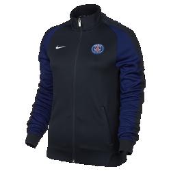 Женская куртка Paris Saint-Germain Authentic N98Женская куртка Paris Saint-Germain Authentic N98 создана, чтобы сохранять тепло в прохладную погоду. Элементы дизайна заимствованы у классической куртки для бега.<br>