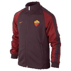 Куртка для школьников A.S. Roma Authentic N98 (XS–XL)Куртка для школьников A.S. Roma Authentic N98 превосходно сохраняет тепло в прохладную погоду. Элементы дизайна заимствованы у классической куртки для бега.<br>