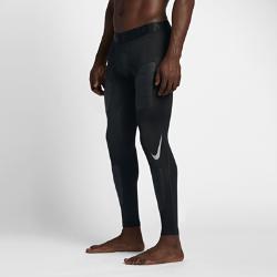 Мужские тайтсы для тренинга Nike Pro HyperWarm AeroloftМужские тайтсы для тренинга Nike Pro HyperWarm Aeroloft обеспечивают эффективную вентиляцию и защиту от холода для оптимального тепла и комфорта во время тренировок в холодную погоду.  Зональная защита от холода  Прочные вставки с легким наполнителем обеспечивают тепло там, где это необходимо, не ограничивая движений.  Зональная вентиляция  Эти тайтсы Nike не только самые теплые, но и самые воздухопроницаемые: продуманное расположение вставок из термосетки обеспечивает вентиляцию и комфорт при повышении нагрузки.  Элементы с отражением  Светоотражающие элементы на голени делают тебя заметнее во время тренировок в темное время суток.<br>