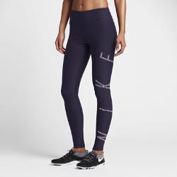 Женские тайтсы для тренинга со средней посадкой Nike Power LegendЖенские тайтсы для тренинга со средней посадкой Nike Power Legend из мягкой влагоотводящей ткани с компрессионной конструкцией обеспечивают комфорт и поддержку во времятренировок.<br>