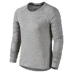 Женская беговая футболка с длинным рукавом Nike Therma Sphere ElementЖенская беговая футболка с длинным рукавом Nike Therma Sphere Element обеспечивает превосходную защиту благодаря удлиненной нижней кромке и заворачивающимся рукавам-варежкам, а влагоотводящая ткань создает комфорт в холодную погоду.  Тепло и воздухопроницаемость  Ткань Nike Sphere отлично регулирует тепло твоего тела и удерживает его, если ты тренируешься в холодную погоду.  Надежная посадка  Отверстия для больших пальцев и заворачивающиеся рукава-варежки обеспечивают дополнительную защиту и надежную посадку.  Стань заметнее  Светоотражающие элементы делают тебя заметнее в темное время суток.<br>
