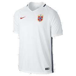 Мужская футбольная джерси 2016 Norway Stadium AwayМужская футбольная джерси 2016 Norway Stadium Away из воздухопроницаемой ткани обеспечивает комфорт без утяжеления во время игры и на каждый день.<br>