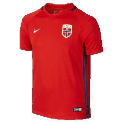 Футбольная джерси для школьников 2016 Norway Stadium Home (XS–XL)Футбольная джерси для школьников 2016 Norway Stadium Home из легкой воздухопроницаемой ткани обеспечивает комфорт во время игры и на каждый день.<br>