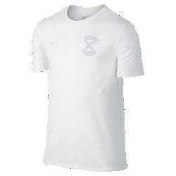 Мужская футболка NikeFootballX Name And NumberМужская футболка NikeFootballX Name And Number из мягкой ткани Dri-FIT с графикой, посвященной игре в мини-футбол.<br>