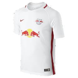 Футбольное джерси для школьников 2016/17 RB Leipzig Stadium Home (XS–XL)Футбольное джерси для школьников 2016/17 RB Leipzig Stadium Home из легкой ткани обеспечивает комфорт на каждый день.<br>