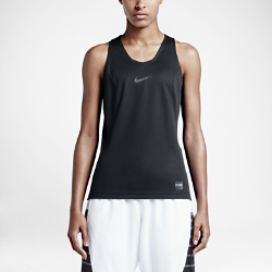 Женский баскетбольный топ Nike EliteЖенский баскетбольный топ Nike Elite с плотной посадкой изготовлен из ткани Dri-FIT и снабжен вставками из сетки, которые обеспечивают непревзойденный комфорт и оптимальную вентиляцию во время игры.<br>