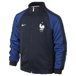 Куртка для школьников FFF Authentic N98 (XS–XL)Куртка для школьников FFF Authentic N98 изготовлена из прочной ткани. Воротник-стойка с молнией до подбородка обеспечивает комфорт и защиту от холода.<br>