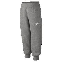 Спортивные брюки для мальчиков дошкольного возраста Nike Brushed Fleece Rib (3–8 лет)Спортивные брюки для мальчиков дошкольного возраста Nike Brushed Fleece Rib сохраняют тепло благодаря мягкой ткани и рубчатой окантовке.&amp;#160;<br>