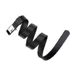 Женский ремень для гольфа Nike Modern PlaqueЖенский ремень для гольфа Nike Modern Plaque из первоклассной кожи наппа обеспечивает прочность надолго.<br>