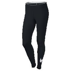 Женские леггинсы с логотипом Swoosh Nike SportswearЖенские леггинсы с логотипом Swoosh Nike Sportswear из мягкого и эластичного смесового хлопка обеспечивают комфорт на каждый день.<br>