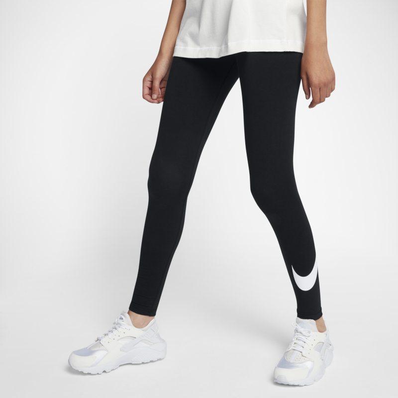 Nike Sportswear Leggings con Swoosh - Mujer - Negro