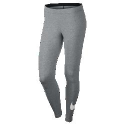 Женские леггинсы с логотипом Swoosh Nike SportswearЖенские леггинсы с логотипом Swoosh Nike Sportswear обеспечивают мягкость и комфорт на каждый день благодаря эластичной смесовой ткани на основе хлопка и зауженному крою.<br>
