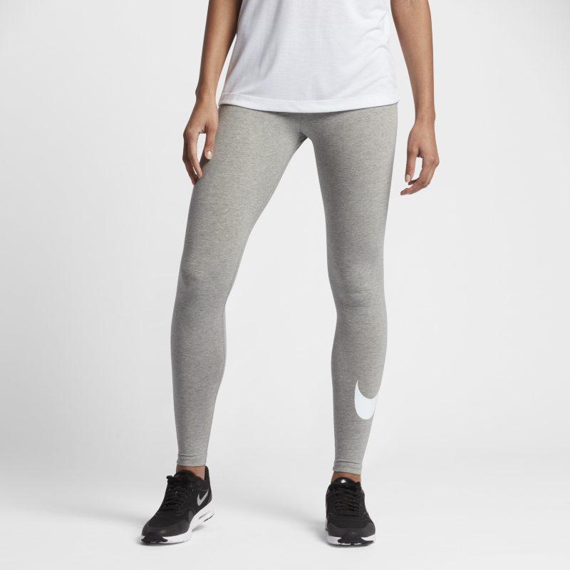 Nike Sportswear Leggings con Swoosh - Mujer - Gris