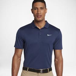 Мужская рубашка-поло для гольфа с облегающим кроем Nike VictoryМужская рубашка-поло для гольфа с облегающим кроем Nike Victory обеспечивает превосходный комфорт благодаря влагоотводящей ткани и усовершенствованному силуэту.<br>