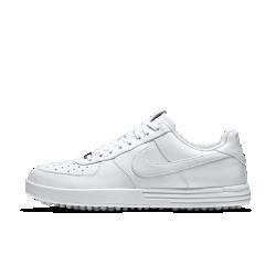 Мужские кроссовки для гольфа Nike Lunar Force 1 GМужские кроссовки для гольфа Nike Lunar Force 1 G с классическим силуэтом Nike Air Force 1 и оптимизированной функциональной конструкцией демонстрируют на поле культовый дизайн,обеспечивая стабилизацию и комфорт на протяжении всей игры.<br>