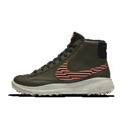 Женские кроссовки для гольфа Nike BlazerЖенские кроссовки для гольфа Nike Blazer сочетают легендарный профиль, водонепроницаемые материалы и инновационный рисунок протектора без шипов для стабилизации во время игры.<br>